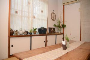 赤田風の座敷